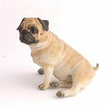 Pug Dog Figurine Ornament Country Artists Discontinued