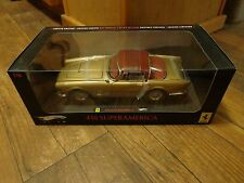 1:18 SCALE--HOT WHEELS ELITE--GOLD FERRARI 410 SUPERAMERICA CAR (NEW) LIMITED