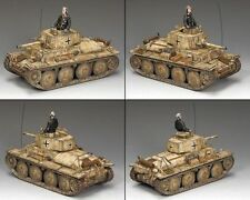 """King and country WW11 forces allemandes """"pz.kpfw 38 (t) wss225 ws225"""