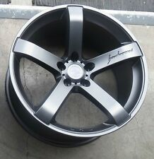 "19"" MRR VP5 Wheels For Ford Mustang GT 19X9.5 Inch Matte Grey Rims Set (4)"