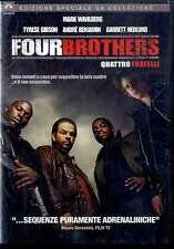 FOUR BROTHERS (Quattro Fratelli) Mark Wahlberg Tyrese Gibson DVD FILM Usato
