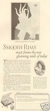 VTG 1920's CUTEX Nail Polish Manicure Beauty ART DECO Regnier French Actress AD