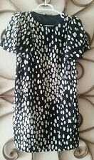 Moschino - Cheap and Chic - Black and White Polka Dots - Dress - Size US 6