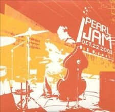 Pearl Jam Benaroya Hall CD OCT 22 2003 (2 CDS) RARE OOP U.S. Seller - Collectors