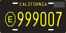 Emergency 51 TV show 1972 California replica License plate