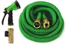 Garden Hose, 50 Feet Strongest Expandable Hose, with All Brass. By GrowGreen™