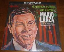 MARIO LANZA LP - CHRISTMAS HYMNS AND CAROLS - ELECTRONICALLY REPROCESSED STEREO
