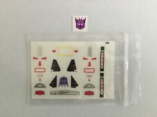 Eness Detail decals for Transformers DX9 D07 TYRANT,In stock!