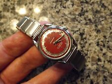 1960's Titoni Airmaster 21 jewel hand winding watch with matching expansion band