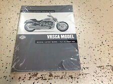 2002 Harley Davidson VRSCA Service Shop Manual Set W Electrical & Parts Book NEW