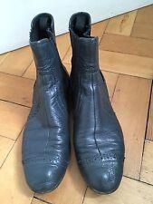 Balenciaga Chelsea Botas, Gris, Talla 39.5 Raro