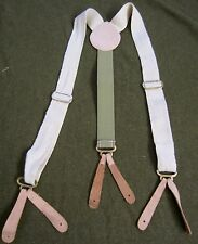 WWII GERMAN M37 M40 M43 TROUSERS SUSPENDERS