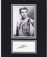 AUDIE MURPHY  8x10 REPRINT PHOTO & REPRINT AUTOGRAPH ON GLOSSY PHOTO PAPER