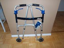 Deluxe Trigger Release Folding Adult Walker with 5'' heels, #10226-4 ''New''