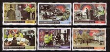 ISLE OF MAN 2013 CONSTABULARY ANNIVERSARY SET OF 6  UM, MNH, POLICE