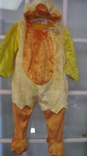 2t Chicken Halloween costume Chick outfit suit plush drama yellow duck