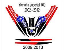 YAMAHA SUPER JET 700 jet ski wrap graphics pwc stand up jetski decal kit 11