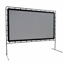 Theater Movie Screen Portable Outdoor Backyard Projector Rear Projection 144""