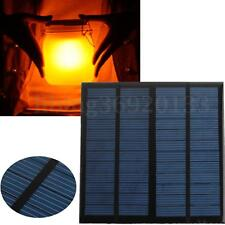 PANNELLO SOLARE FOTOVOLTAICO monocristallino 12V 3W per low power appliances