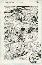 Grindberg NEW TITANS ANNUAL 7 pg 34 ALL DEATHWING  PAGE (1'ST APP ISSUE) & TERRA