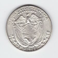 1968 PANAMA SILVER COIN weighs 11.3 grams app T-242