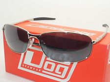DIRTY DOG TIGER 53326 POLARISED SUNGLASSES SILVER/SILVER MIRROR *WITH D/D CASE