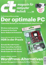 c't Magazin, Heft 25/2016 vom 26.11.2016: Der optimale PC  + wie neu +