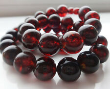 Natural Baltic Amber Cherry Necklace  43 gr