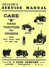 Case D Model Series Tractor Dealers Service Manual