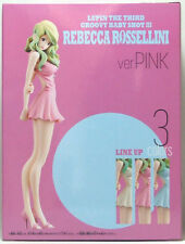 "BANPRESTO Lupin the Third "" Rebecca Rossellini "" ver. PINK Groovy baby Figure"