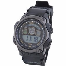 New Infantry Military Mens Tactical Sport Digital Wrist Watch Black Rubber Band