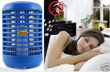 Electronic Mosquito Insect Killer LED Blue Night 5 Watt Lamp 100% Original InBox