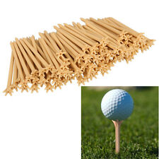 100 Pcs Pack Professional Frictionless Golf Tee Wheat Golf Tees Plastic