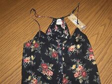 NWT New w/Tags:  Ralph Lauren Denim and Supply Floral Romper  Sz: Large
