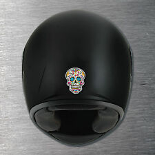 Sugar Skull 1 Helmet sticker quality 7 yr water/fade proof vinyl motorbike