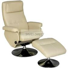 New Stylish Modern Pu Leather Executive Recliner Arm Chair with foot stool K1815