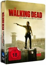 *THE WALKING DEAD - STAFFEL 3 *UNCUT* DEUTSCH *LIM. BLU-RAY STEELBOOK* NEU/OVP