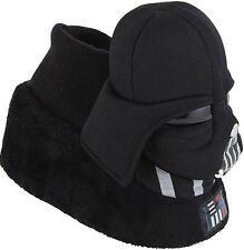 Star Wars The Force Awakens Lord Darth Vader Helmet Plush Sock Top Slippers 9-10