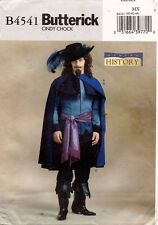 Butterick  Men's Musketeer Costume Pattern B4541 Size 40-44 UNCUT