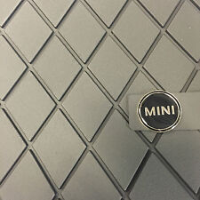 MINI F54 GENUINE FRONT RUBBER FLOOR MATS CLUBMAN NEW SHAPE 51472408522