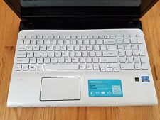 """Sony Vaio SVE151J13L INTEL I5 Screen15.6"""" blu-ray AS IS FOR PARTS OR REPAIR !!!"""