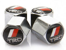 TRD Chrome Vehicle Anti-Theft Tire Valve Stems Toyota Tundra Tacoma x 4 set