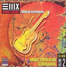 EMU E-MU Sampler Sampling Sound CD EIII ESI E4 E-IV More Emulator Stand. Vol. 2