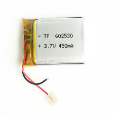 3. 7V 450mAh 602530 Li po Polymer Rechargeable Battery for MP3 DVD bluetooth GPS
