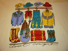 Vintage Cowgirl Shirt ( Size Xl ) New Deaedstock!