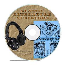 THE SECOND JUNGLE BOOK, RUDYARD KIPLING, MP3 CLASSIC AUDIOBOOK LITERATURE-A48