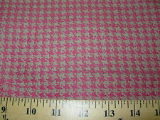 ~9 YDS~ HOUNDSTOOTH~ELEGANT HOME DECOR UPHOLSTERY~FABRIC FOR LESS~FREE SHIPPING~