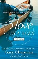 THE 5 FIVE LOVE LANGUAGES FOR MEN Gary Chapman Christian NEW book marriage