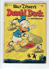 Donald Duck Four Color #394 VG+ Barks Bradbury Uncle Scrooge - FREE SHIPPING