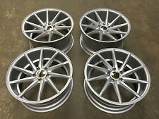 "20"" BRAND NEW TURBINE STAGGERED ALLOY WHEELS 5X120 BMW M3 E90 F30 CONCAVE"